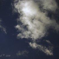 Облачный образ старика. :: Елена Kазак