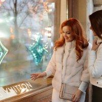 Новогодние фотопрогулки в центре Москвы :: Таня Турмалин