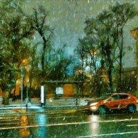 Снег! И ощущенье крыльев за спиною. :: Ирина Данилова