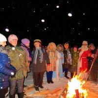 Зимние забавы. :: ВАЛЕНТИНА ИВАНОВА