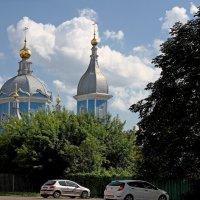 Купола собора. Новозыбков. Брянская область :: MILAV V