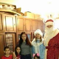 Поздравление детей Дедом Морозом и Снегурочкой :: Центр Юность