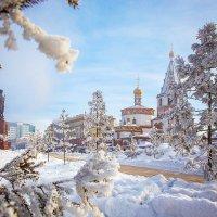 Морозный Иркутск! :: Алексей Белик