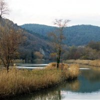 Маленький островок на реке :: Виктория Попова