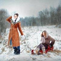 На санках :: Roman Sergeev