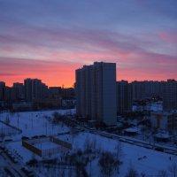 Крещенское утро в Москве. 19 января 2018 г. :: Сергей Михальченко