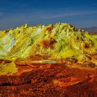 кратер вулкана Даллоль: это настоящие цвета ! :: Георгий