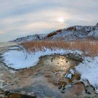 Зимний берег Маныч-Гудило :: Фёдор. Лашков