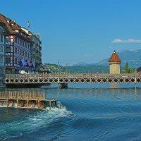 Река Ройс в Швейцарии :: Анатолий Иргл