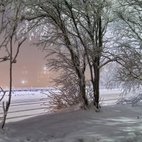 маленький город в Заполярье :: Елена Багирова