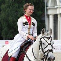 когда и конь и наездница улыбаются :: Олег Лукьянов