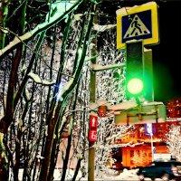 Зиме - зелёный свет... :: Кай-8 (Ярослав) Забелин