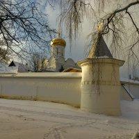 Стены Борисоглебского монастыря. :: Анатолий. Chesnavik.