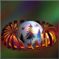 шарик для елки :: linnud