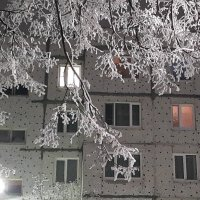 Зимняя сказка в городе :: Вероника