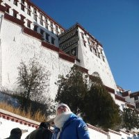 Тибет. Белый дворец :: Tata Wolf