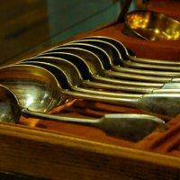 Столовое серебро (К.Фаберже, ХIХ век) :: Арина Невская