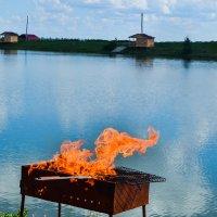 Огонь :: Евгения Трушкина