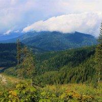 Присело облако отдохнуть перед дальней дорогой :: Сергей Чиняев