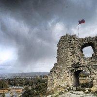 Крепость Каламита в шторм... :: Сергей Леонтьев
