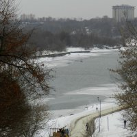 Зима в Москве. :: Ирина Лебедева