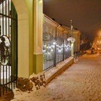 Вечер в городе на Мсте. :: Константин Иванов