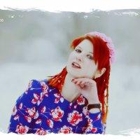 Мари зимний портрет :: Роза Бара
