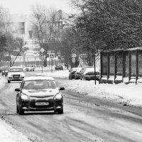 ул.Берзарина зимой :: Александр