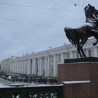 Санкт-Петербург.Аничков мост. :: Таэлюр
