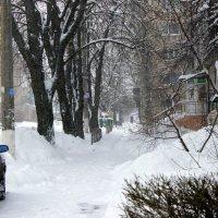 Сугробов рыхлые снега. :: Валентина ツ ღ✿ღ