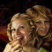 сестрички-лисички2 :: николай дубовцев