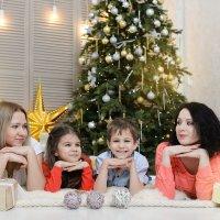 Новогодняя фотосессия в Москве. :: Таня Турмалин