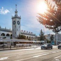 Железнодорожный вокзал в Сочи :: Юлия Батурина