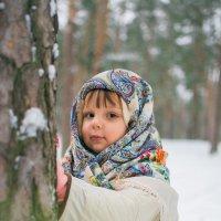 Девочка в лесу :: Анастасия Жигалёва