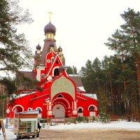 Строительство нового храма :: Ирина Олехнович