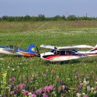 на полевом аэродроме :: vg154