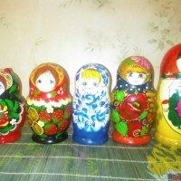 Коллекция матрешек радующая глаз! :: Светлана Калмыкова