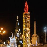 Ледяная свеча :: Леонид Никитин