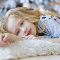 зимний портрет девочки :: Алина Меркурьева