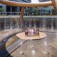 Фонтан Богатства (Fountain of Wealth), Сингапур. :: Edward J.Berelet