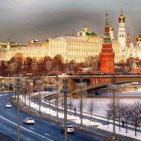 Первый день февраля в Москве. :: Лара ***