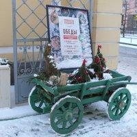 СПб.В.О.6-линия Реклама на тележке. :: Таэлюр