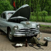 ГАЗ М-20 :: Павел WoodHobby