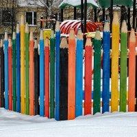 Про забор... :: Ирина Шарапова