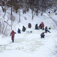 Зимняя рыбалка :: Александра