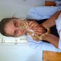Інна з котиком :: Танюша