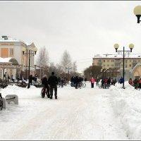 3 февраля 2018 - Третий зимний велопарад в Ижевске (Сбор) :: muh5257