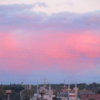 В розовой дымке заката.. :: Валентина Дмитровская
