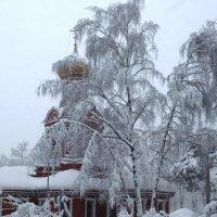 Знаменский храм в городе Красногорск-1 :: Андрей Бондаренко