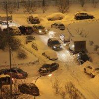 Царство машин и снега :: Сергей Михальченко